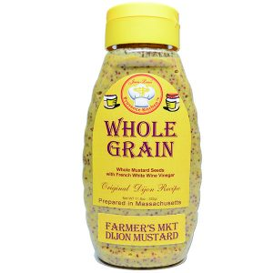 Dijon MUSTARD WHOLE GRAIN