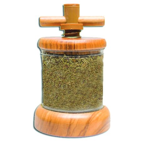 Spice GRINDER HERBS DE PROVENCE - Light Duty - Herbs Only - Olive Wood