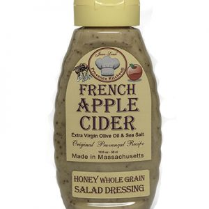 Provence Kitchen Honey Whole Grain Salad Dressing Aged Apple Cider Wine Vinegar