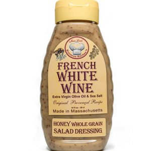 Honey Whole Grain Salad Dressing Aged White Wine Vinegar