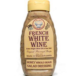 Honey Whole Grain Salad Dressing Aged White Wine Vinegar