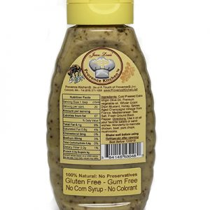 Provence Kitchen Honey Whole Grain Salad Dressing Aged Champagne Vinegar
