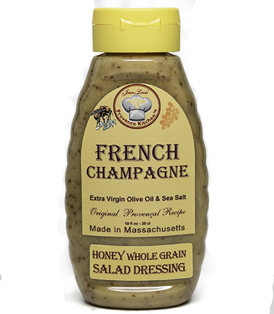 Provence Kitchen Honey Whole Grain Salad Dressing Aged Champagne Vinegar